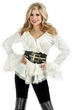 Women's South Seas Pirate Lady Blouse - Off  White or Black