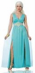 Women's Teal Mythical Goddess Costume