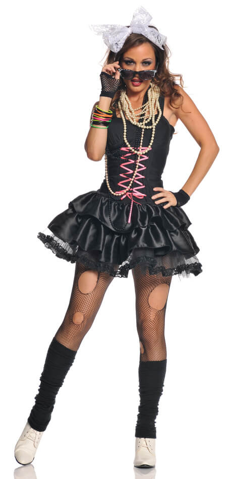 Women's Totally Awesome 80's Costume - Candy Apple ...