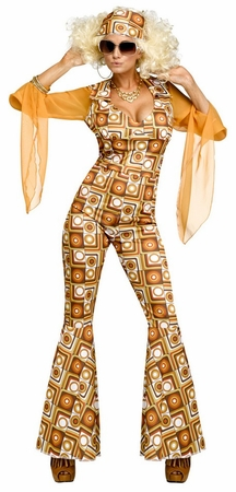 Women's 1970's Hustle Diva Costume