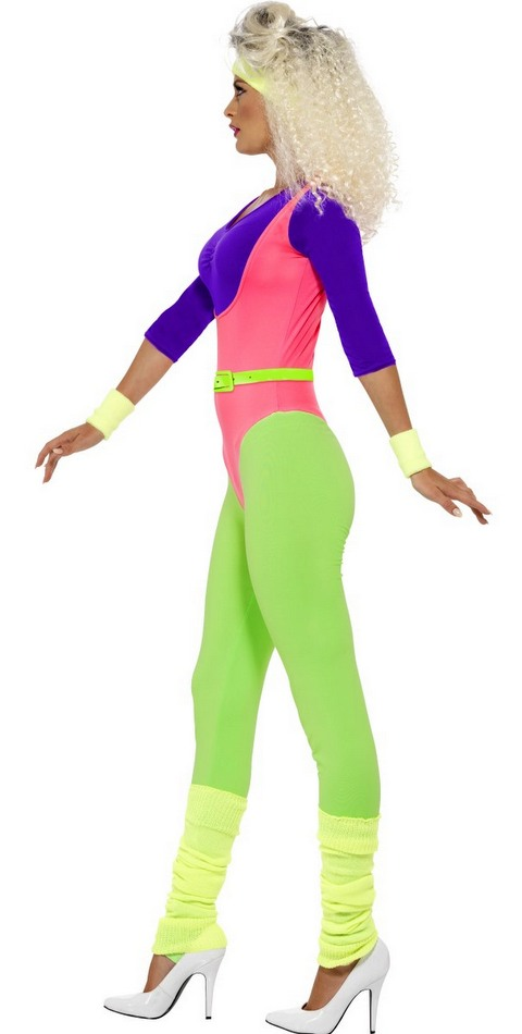 Womens 80s Workout Costume