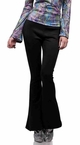 Women's Black 70s Disco Pants - Standard and Plus Sizes