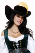 Women's Capitano Renaissance Pirate Hat