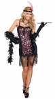 Women's Cotton Club Cutie Flapper Costume