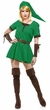 Women's Elf Warrior Princess Costume, Size Medium