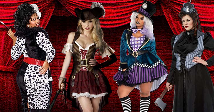 Browse All Women's Costumes