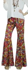 Women's Peace Sign Hippie Bell Bottoms