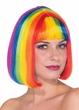 Women's Rainbow Chic Bob Wig
