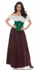 Women's Renaissance Bar Maid Costume