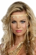 Women's Shimmering Rhinestone Goddess Headpiece