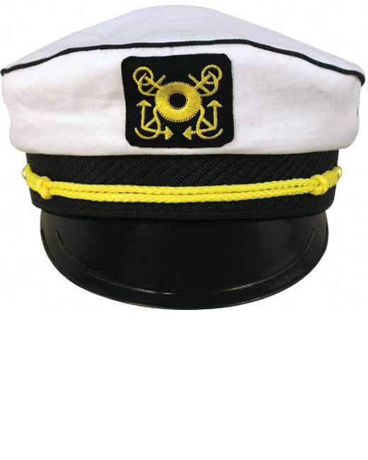 Yacht Captain s Hat - Candy Apple Costumes - Luau Costumes 7a032832a85c