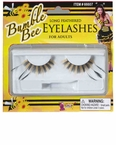 Yellow/Black Feathered Bee Lashes
