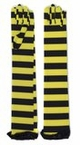Yellow/Black Striped Bee Gloves