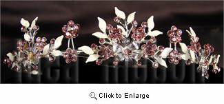 "1-1/2"" high Lt Bule Tiara - IdeaRibbon.com"
