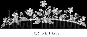 1-3/4 high Silver Tiara - IdeaRibbon.com
