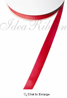 "1"" x 25yds spool Red Poly Webbing Gift Ribbon"