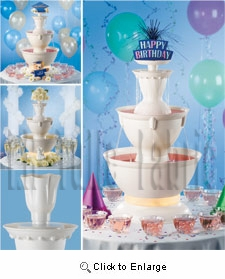 3 Gallon Punch Beverage<br> Champagne party Fountain<br><b><font color=red>Sale !  $124.99 </font></b>- idearibbon.com