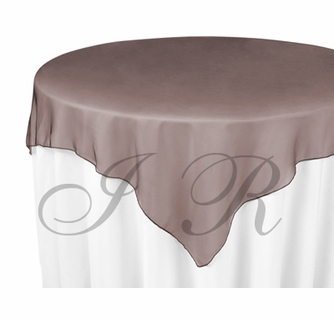 "20 Tissue Lame 60/""x60 Square Table Overlays Made USA Overlays for Tablecloths"