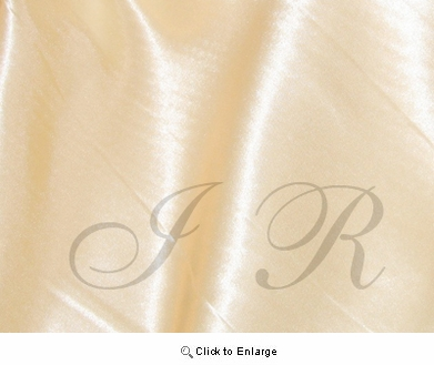 """65"""" x 60 FT Antique Ivory Single Face Silk Satin Roll"""