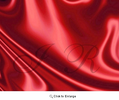 """65"""" x 60 FT Red Satin Fabric Single Roll"""