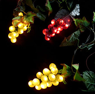 Led Grape Cluster String Lights : Idearibbon