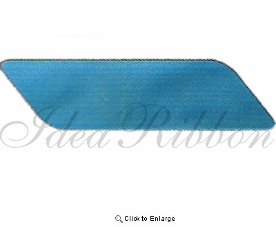 """80""""dia. Turquoise Shimmery Sheer With Sewn Edge - Pack of 3"""