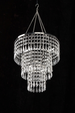 Wedding chandeliers acrylic hand hooked chandelier aloadofball Images