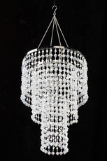 Wedding chandeliers gemstone beaded chandelier aloadofball Images