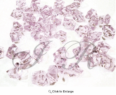 Lavender Acrylic Rocks Acrylic Ice 1 Pound Per Pack