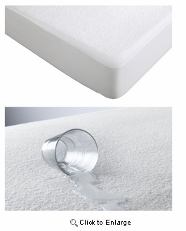 Twin Size Hotel Collection Waterproof Mattress Pad Protector Bed Topper Cover Hypoallergenic Soft|Superbeddings