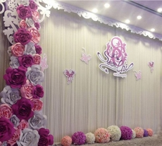 6000 wholesale wedding supplies wedding supply wholesale wedding photo backdrop wall decoration hand made foam paper flower junglespirit Images