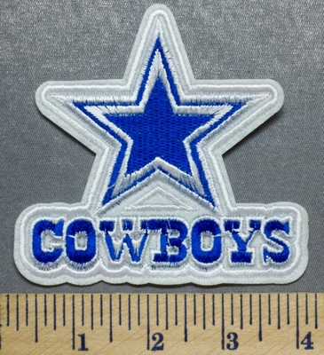 2171 C Dallas Cowboys Embroidery Patch