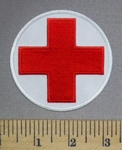 2091 CP - Red Cross Logo -Embroidery Patch