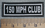 2654 L - 150 MPH Club - Embroidery Patch