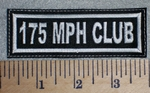 2653 L - 175 MPH Club - Embroidery Patch
