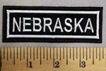 2493 L - Nebraska - Embroidery patch