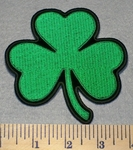 2193 L - 3 Leaf Clover  Embroidery Patch