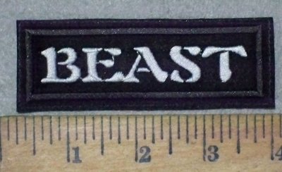 1100 L - Beast - Embroidery Patch