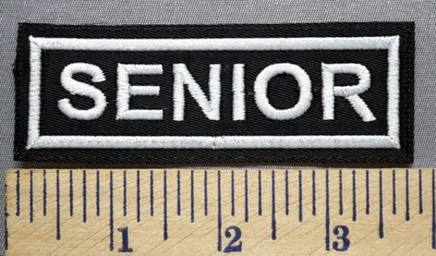 700 L - Senior -  Embroidery Patch