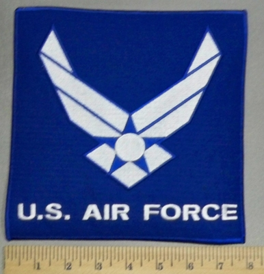 3561 R - U.S. Air Force - Back Patch - Embroidery Patch