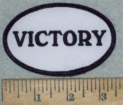 3569 W - Victory - Embroidery Patch