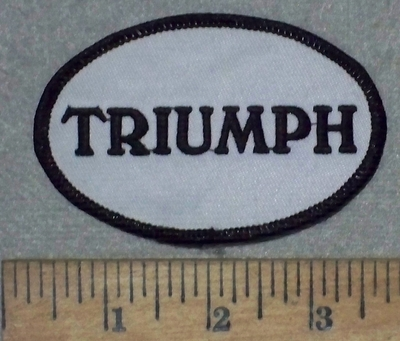 3570 W - Triumph - Embroidery Patch