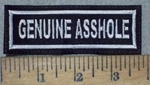 3577 L - Genuine Asshole - Embroidery Patch