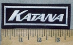 3581 L - Katana - Embroidery Patch