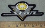 3610 L - Yamaha V - Star Logo - Yellow - Embroidery Patch