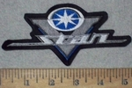 3612 L - Yamaha V - Star Logo - Embroidery Patch