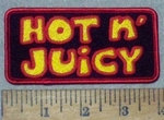 3625 G - Hot  N' Juicy - Embroidery Patch