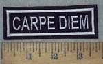 3633 L - Carpe Diem - Embroidery Patch