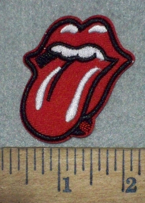 3647 C - Rolling Stone Logo - Mini - Embroidery Patch