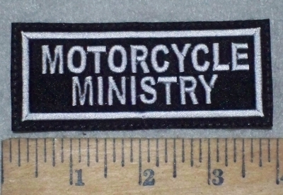 3666 L - Motorcycle Ministry - Embroidery Patch